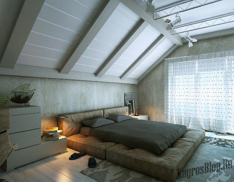 по: Названию как визуально увеличить высоту потолка на мансарде пальто