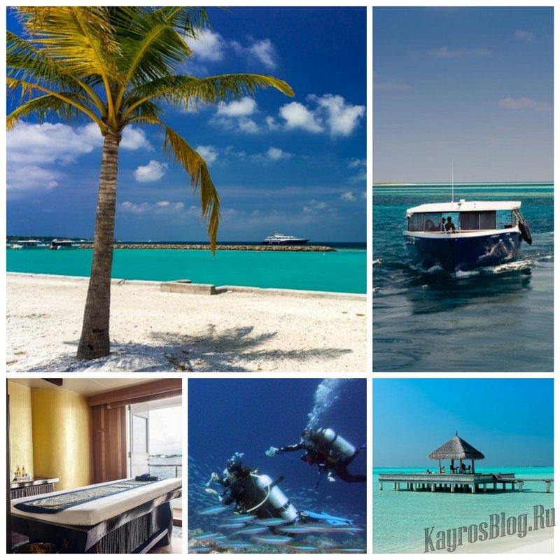 Отправляйтесь в круиз на Мальдивы