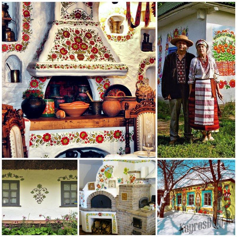 Роспись стен в украинской культуре