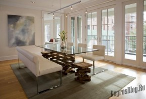 Столовая в современных домах и квартирах