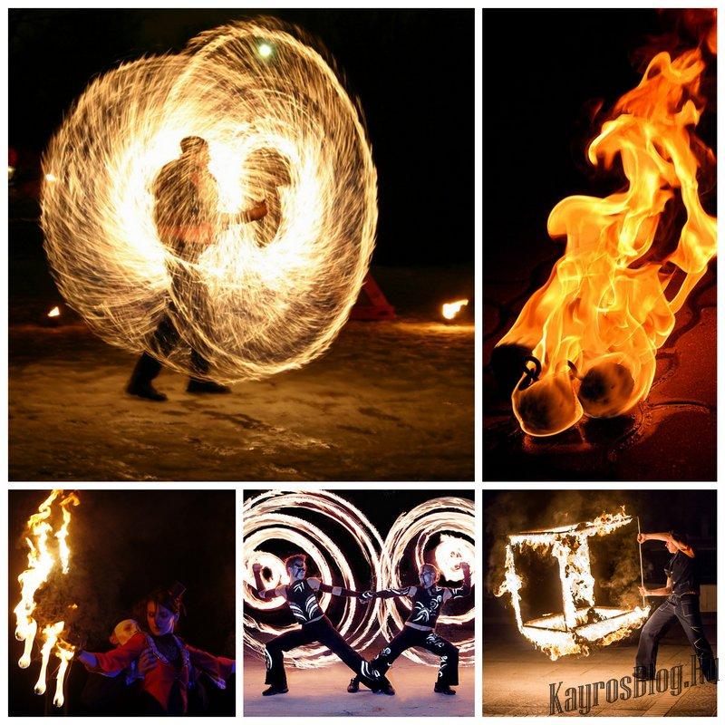 Фаер-шоу - яркий ритуал новозеландских аборигенов