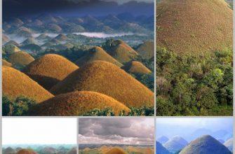 Филиппинские шоколадные холмы на острове Бохол