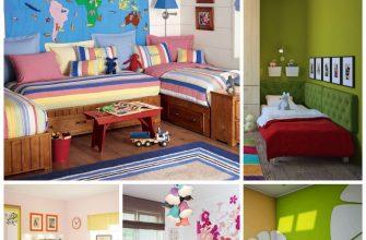 Интерьер детской комнаты - правила создания