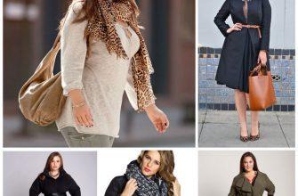 Ремни, сумки и шарфы: мелкие радости крупных женщин