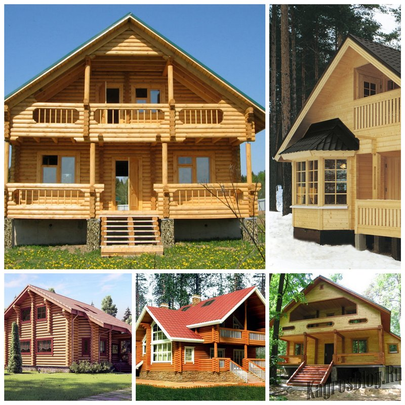 Строительство собственного дома из дерева