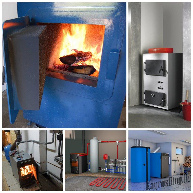 Твердотопливный котел отопления - основные этапы монтажа
