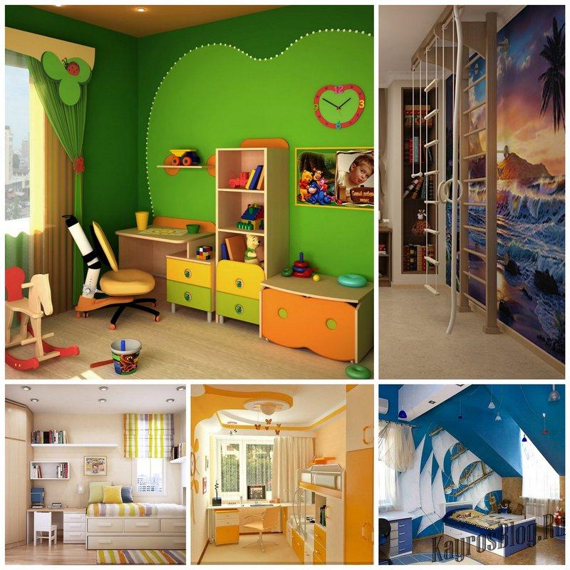 5 главных ошибок при создании интерьера детской комнаты