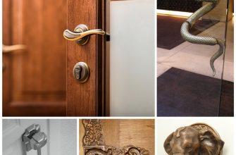Дверная ручка - незаметная деталь интерьера 15