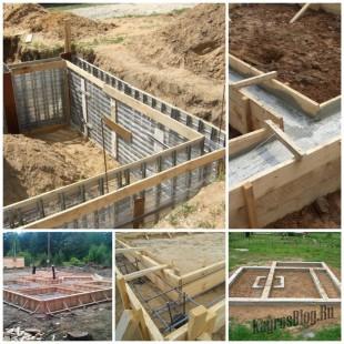 Фундамент для дома - начало любого строительства 9