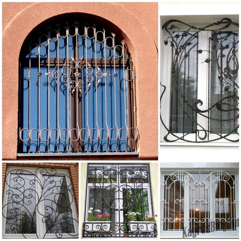 Какие выбрать решетки на окна
