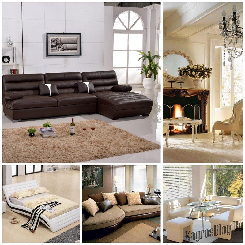Мягкая мебель. Идеи для разных типов помещений