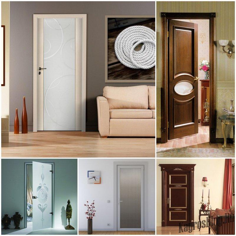 Разновидности дверей для дома