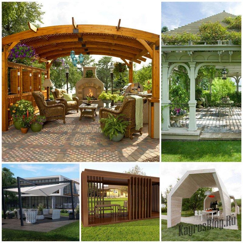 Садовая беседка - комфортный отдых на лоне природы