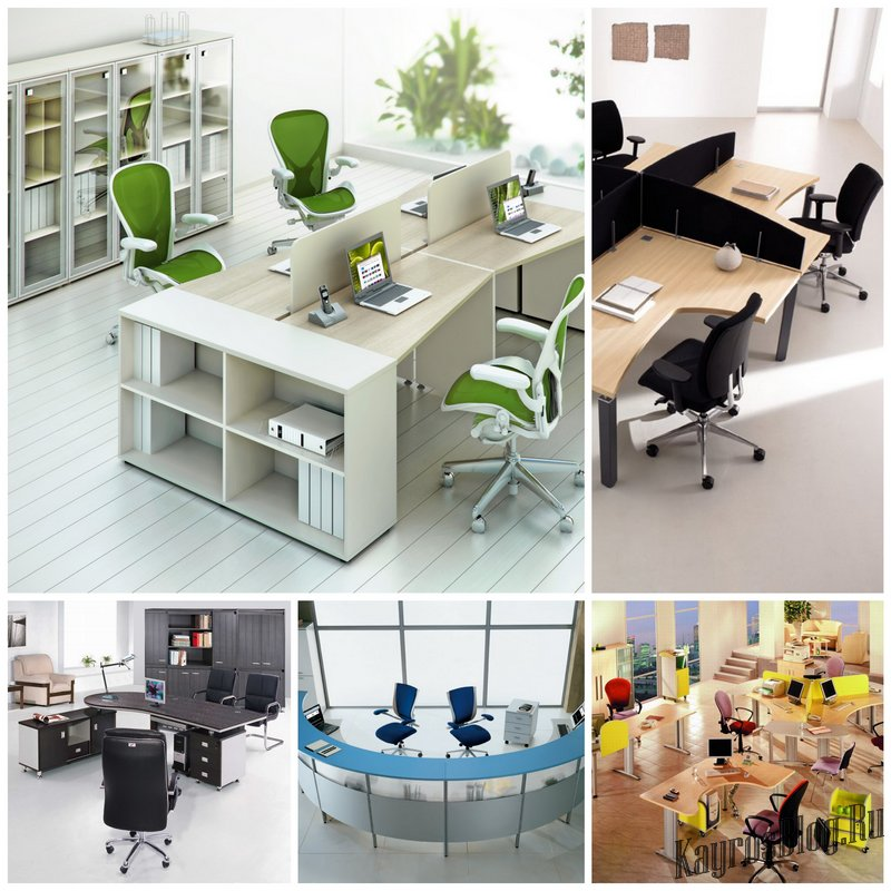 Выбираем мебель для офиса - простые правила