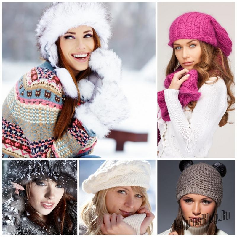 Как выбрать зимний головной убор для женщин 13