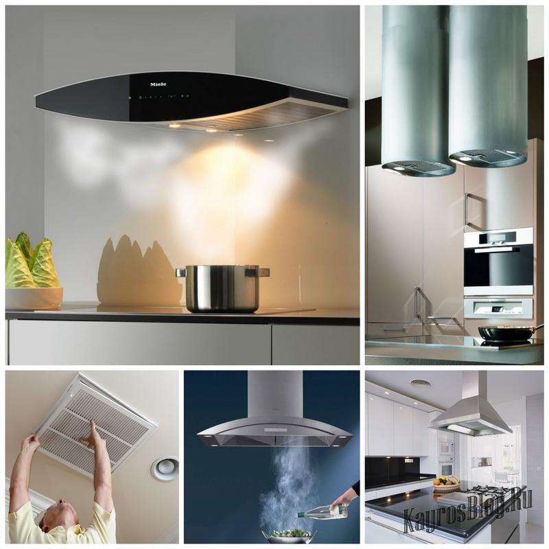 Выбор вентиляции на кухню