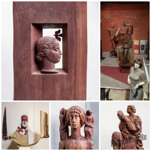 Выставка скульптур Марии Бургановой в РАХ