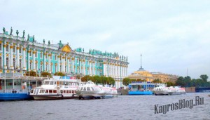 Катание на теплоходах в Санкт-Петербурге