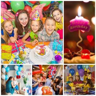 Детский день рождения от года до четырех