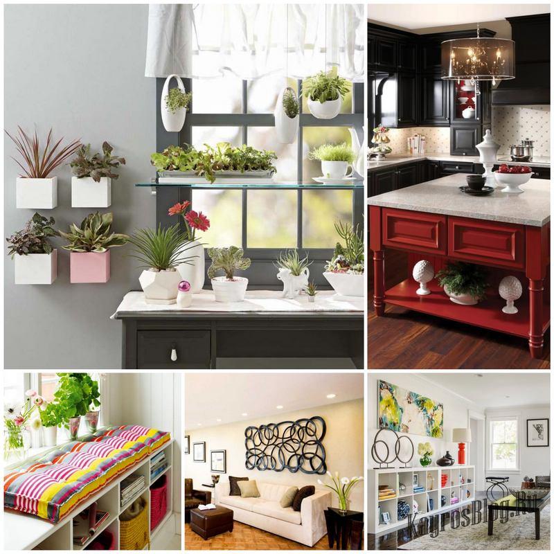 Идеи декора домашнего интерьера