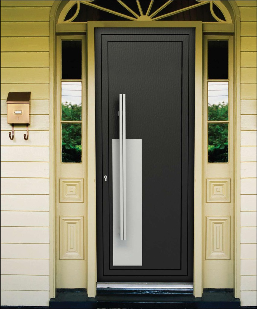 хорошие современные металлические двери