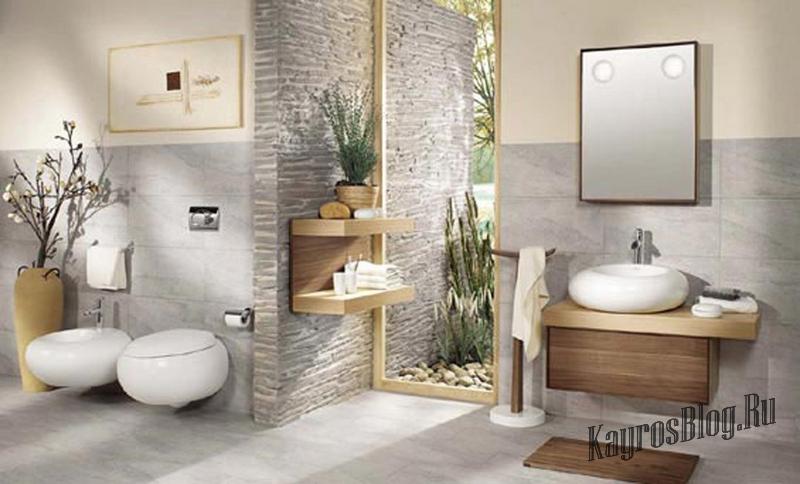 Современные интерьеры ванных комнат фото