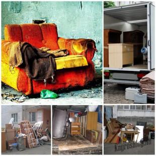 Утилизация старой мебели - простые решения