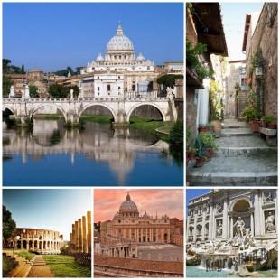 Рим - величественный город богов