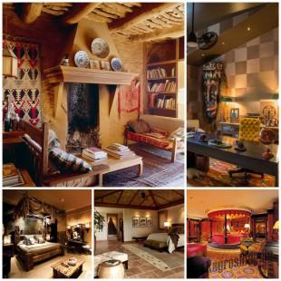 Африканские мотивы, как оригинальное решение дизайна интерьера