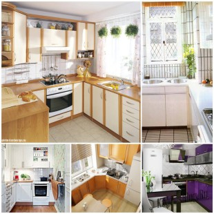 Как сделать маленькую кухню удобной