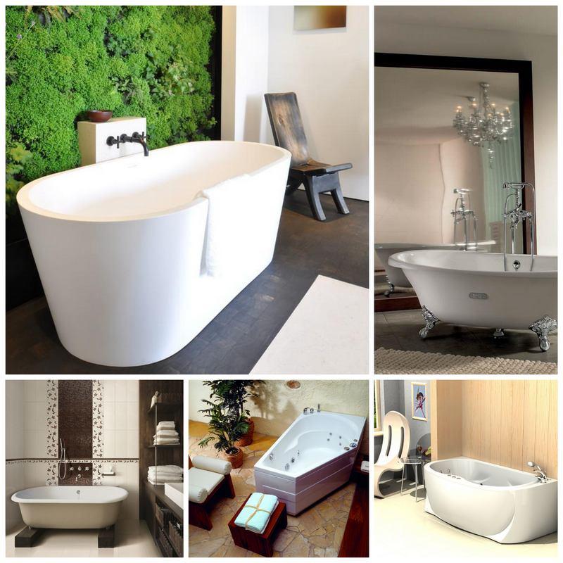Современные ванны: преимущества, материалы и правила установки