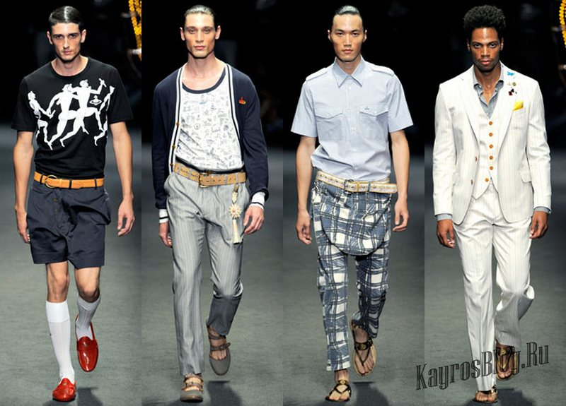 Модная мужская обувь 2015
