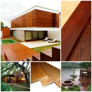 Описание особенностей планкена, изготовленного из древесины лиственницы