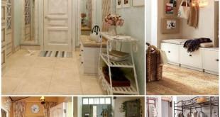 Прихожая в стиле Прованс - элегантная простота в вашем доме