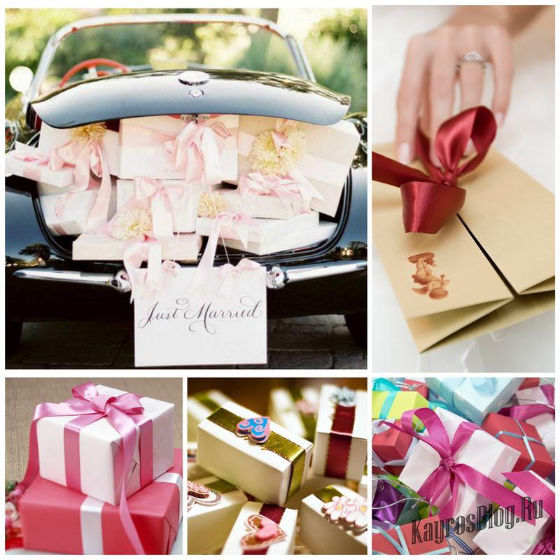 Подарки на свадьбу и как их преподнести 372