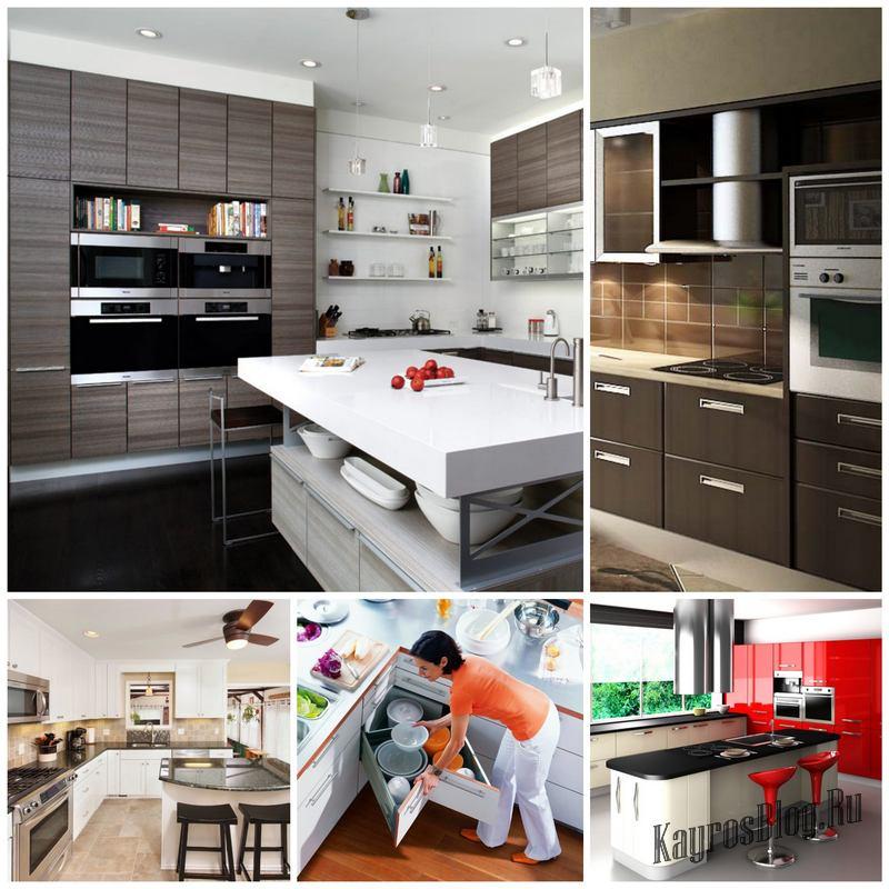 Дизайн кухни — топ-5 ярких трендов