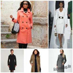 Классическое женское пальто всегда в тренде