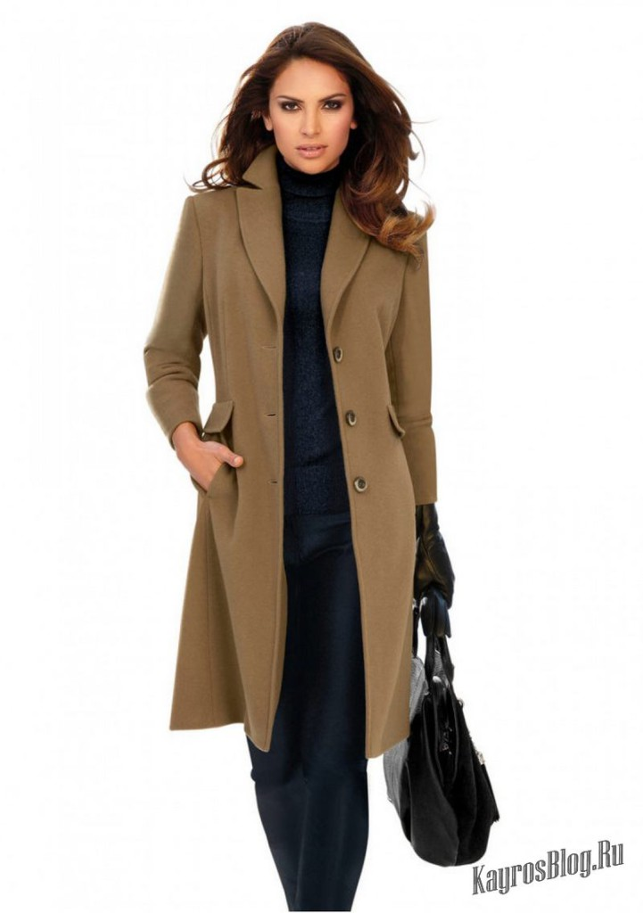 Пальто Женское Классическое