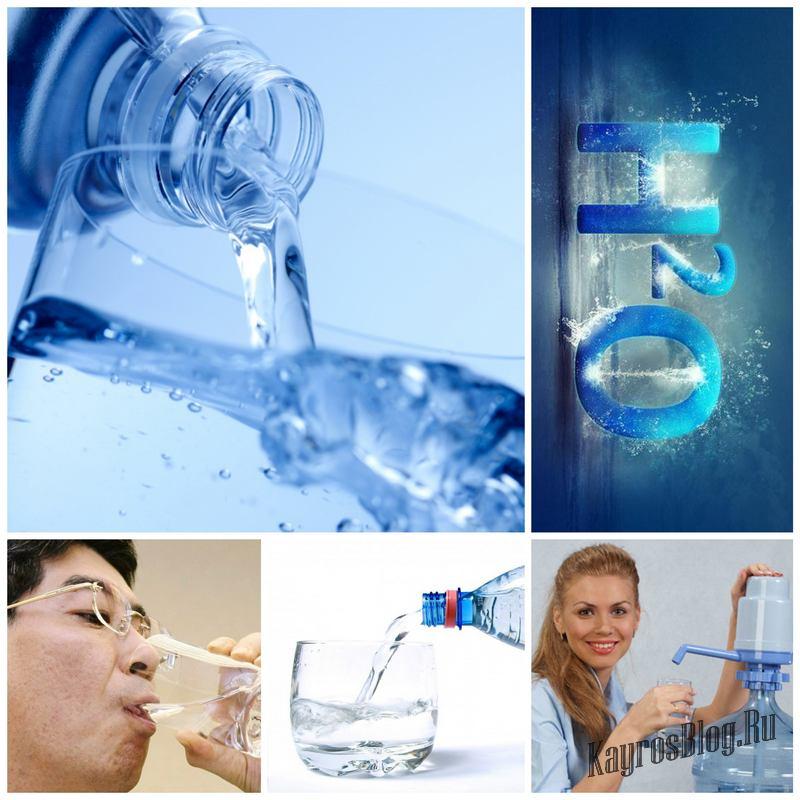 Минеральная вода в жизни человека