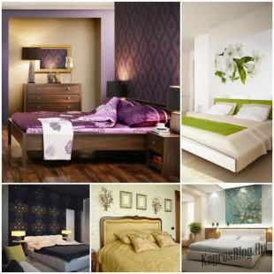 Смена обоев в спальной комнате - советы дизайнера