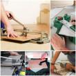 Правильно как резать плитку с глазурным слоем?