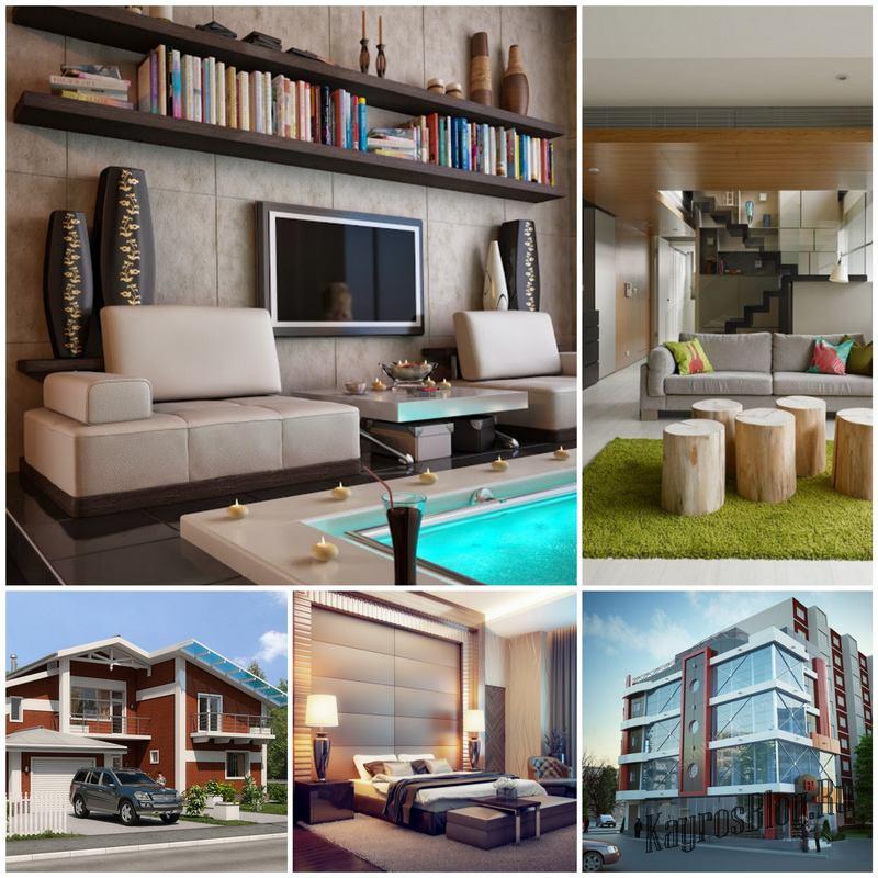 3d визуализация интерьера и архитектурных проектов