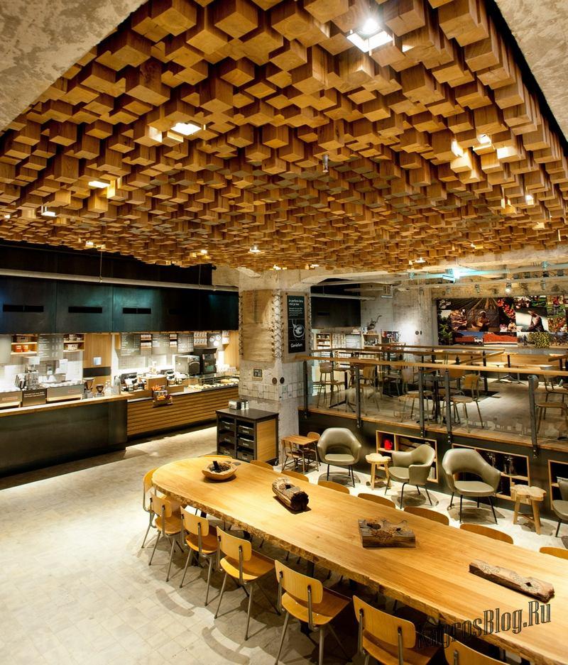 Натяжные потолки в офисе - дизайн, фото