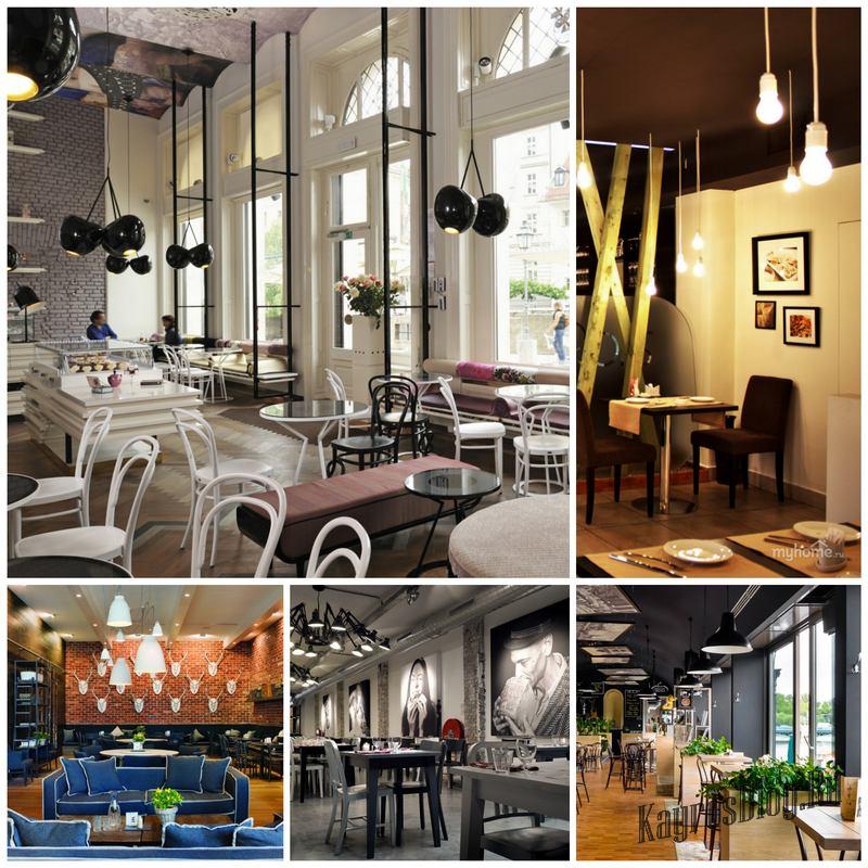 Дизайн интерьера кафе - важный этап его развития