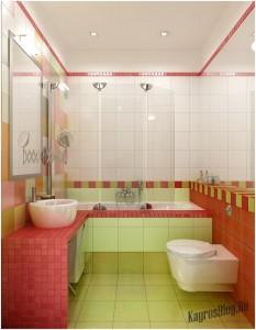 Интерьер маленькой ванной тоже можно обустроить по вашему вкусу 8