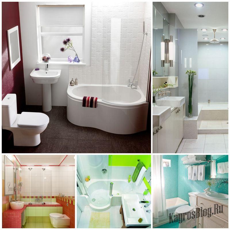 Интерьер маленькой ванной тоже можно обустроить по вашему вкусу