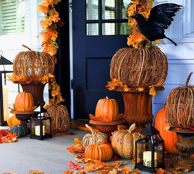 Как украсить дом к Хеллоуину 1