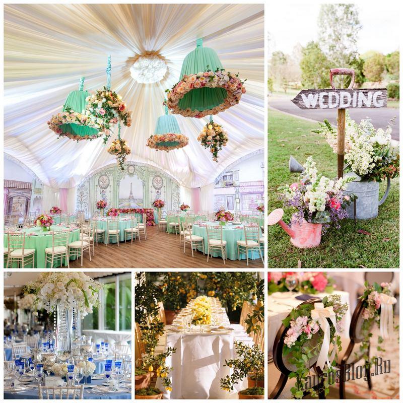Какие выбрать свадебные декорации, чтобы свадьба была идеальной