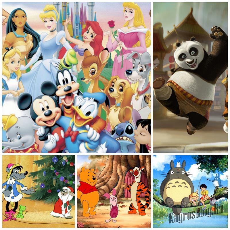 О мультфильмах детских и не очень
