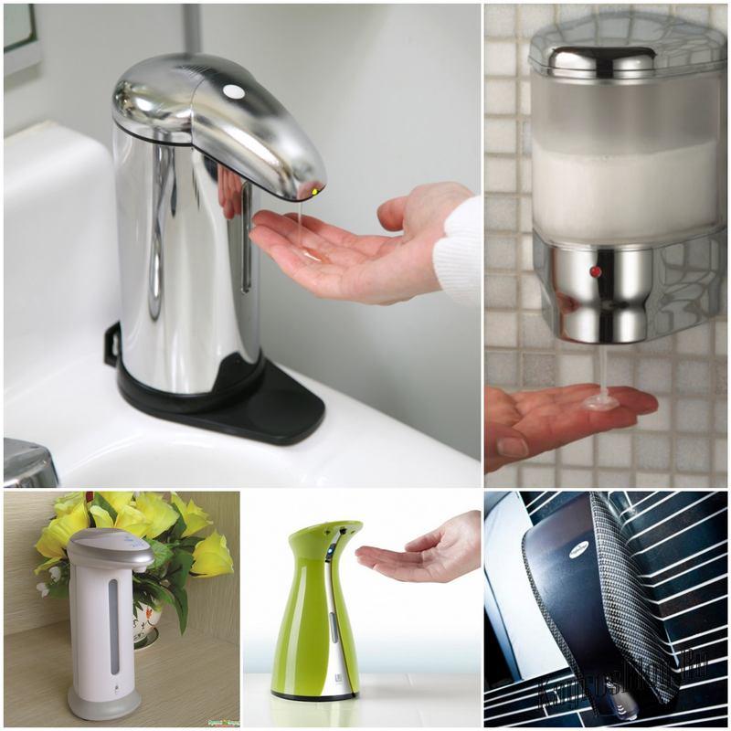 Сенсорный дозатор для жидкого мыла - в чем его преимущества